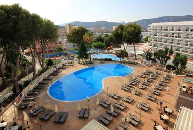 Exterior Hotel AluaSun Torrenova Palmanova, Mallorca